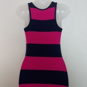 Old Navy Dresses - OLD NAVY Pink and Navy Long Maxi Dress